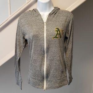Tops - Oakland A's Women's Small Hoodie Sweatshirt